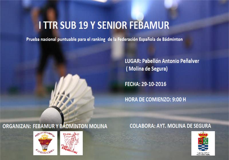 I-TTR Sub19 y Senior en Molina de Segura