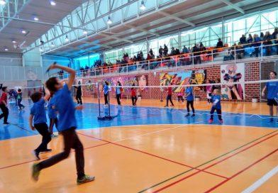 Récord de participación en el 1º InterEscuelas de bádminton Región de Murcia