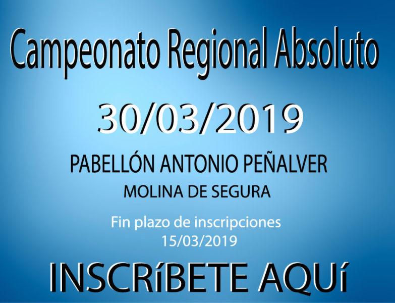 CAMPEONATO AUTONÓMICO SUB-11 Y ABSOLUTO DE LA REGIÓN DE MURCIA 2019