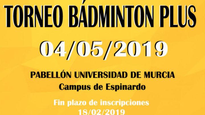 Torneo Territorial Bádminton Plus 2019