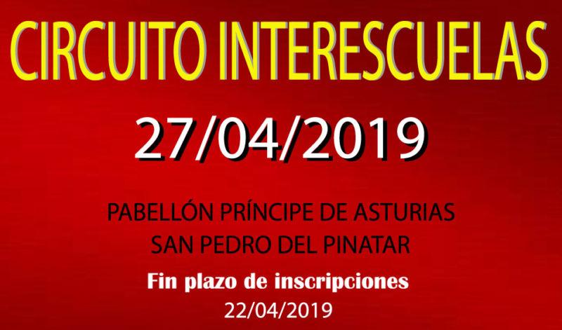 III Torneo InterEscuelas 2018-2019