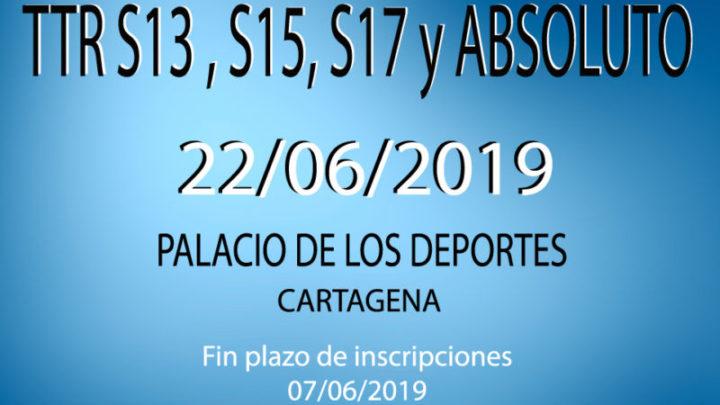TTR Sub13, Sub15, Sub17 y Absoluto (22/06/2019)