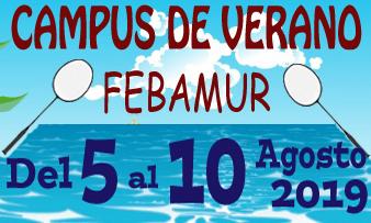 Campus de Verano Febamur (Del 5 al 10 de Agosto)