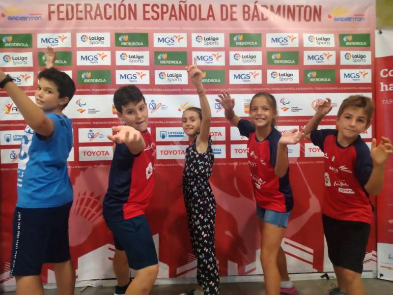 CEIP Mariano Aroca noveno de España en el Campeonato Nacional Bádminton Plus