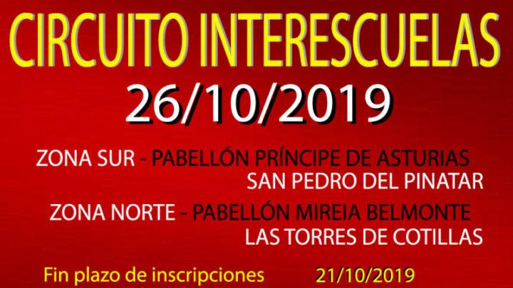 I InterEscuelas (26/10/2019)