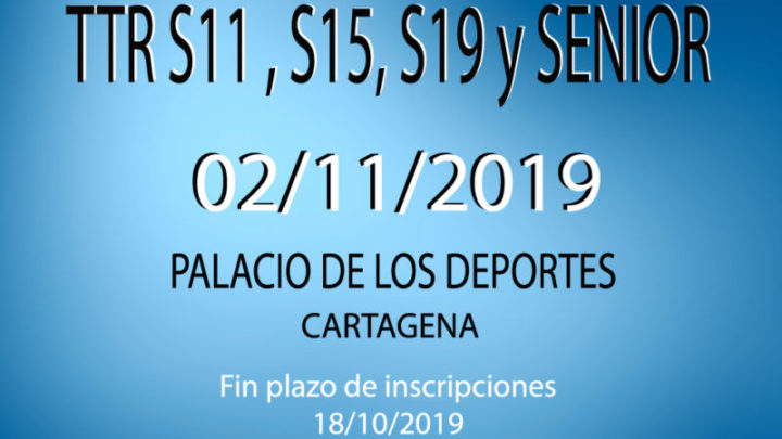 TTR Sub11, Sub15, Sub 19 y Senior (02/11/2019)