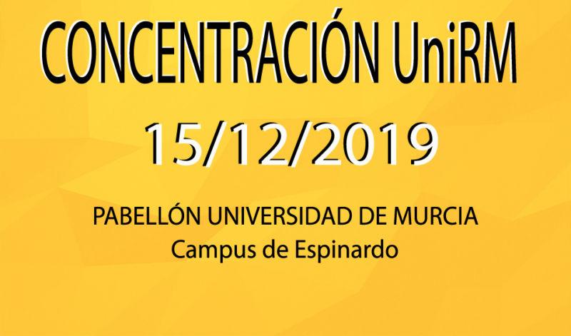 3ª Concentración UniRM (15/12/2019)