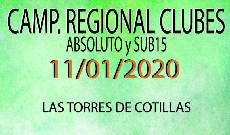 Campeonato de clubes (11/01/2020)