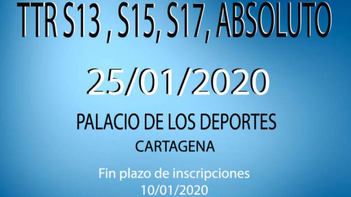 TTR Sub13, Sub15, Sub 17 y Absoluto (25/01/2020)