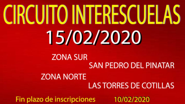 III InterEscuelas (15/02/2020)