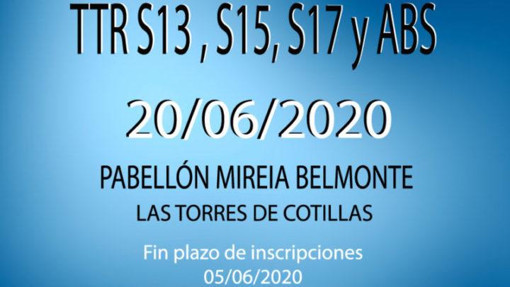 TTR Sub13, Sub15, Sub 17 y Absoluto (20/06/2020)