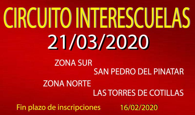 IV InterEscuelas (21/03/2020)