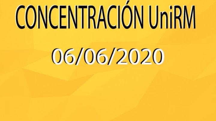 Concentración UniRM (06/06/2020)