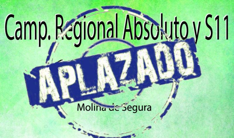 Campeonato Regional Absoluto y S11 (18/04/2020)