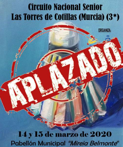 Circuito Nacional Senior de Las Torres – APLAZADO