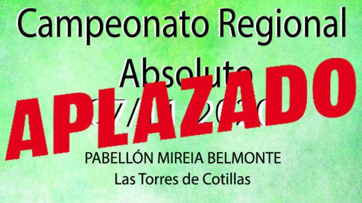 Campeonato Regional Absoluto (Aplazado)