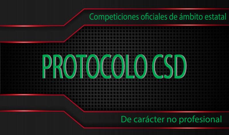 PROTOCOLO COMPETICIONES – COVID-19 -CSD