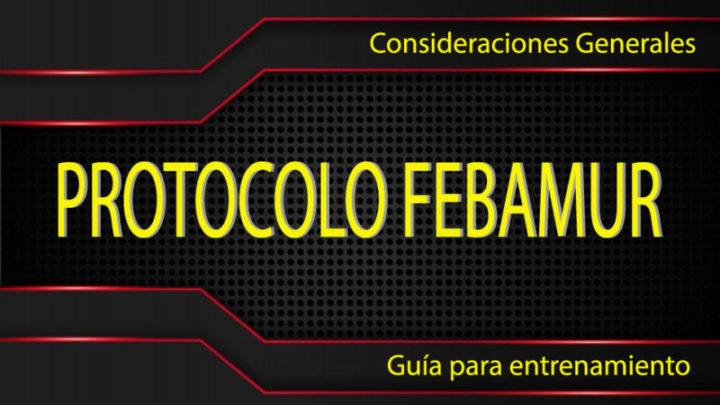 PROTOCOLO BÁSICO – COVID-19 – FEBAMUR