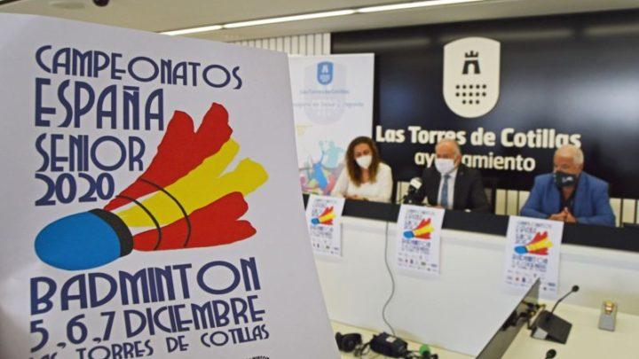 148 deportistas se darán cita en Las Torres de Cotillas para el campeonato nacional senior de bádminton