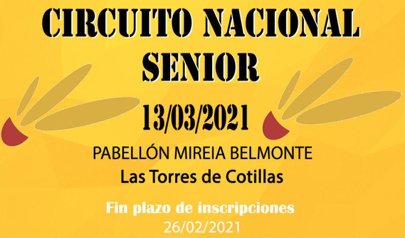 Circuito Nacional Senior (13/03/2021)
