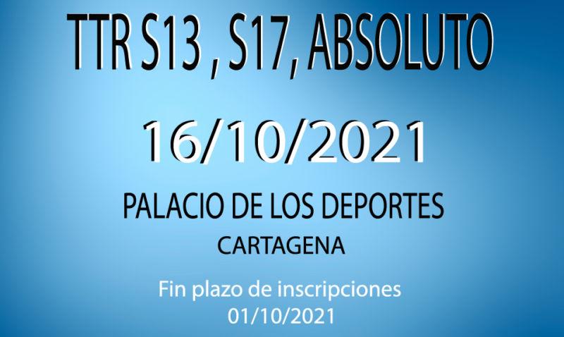 TTR Absoluto, Sub 13 y Sub 17.